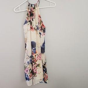 Peppermint Floral Dress / Size L